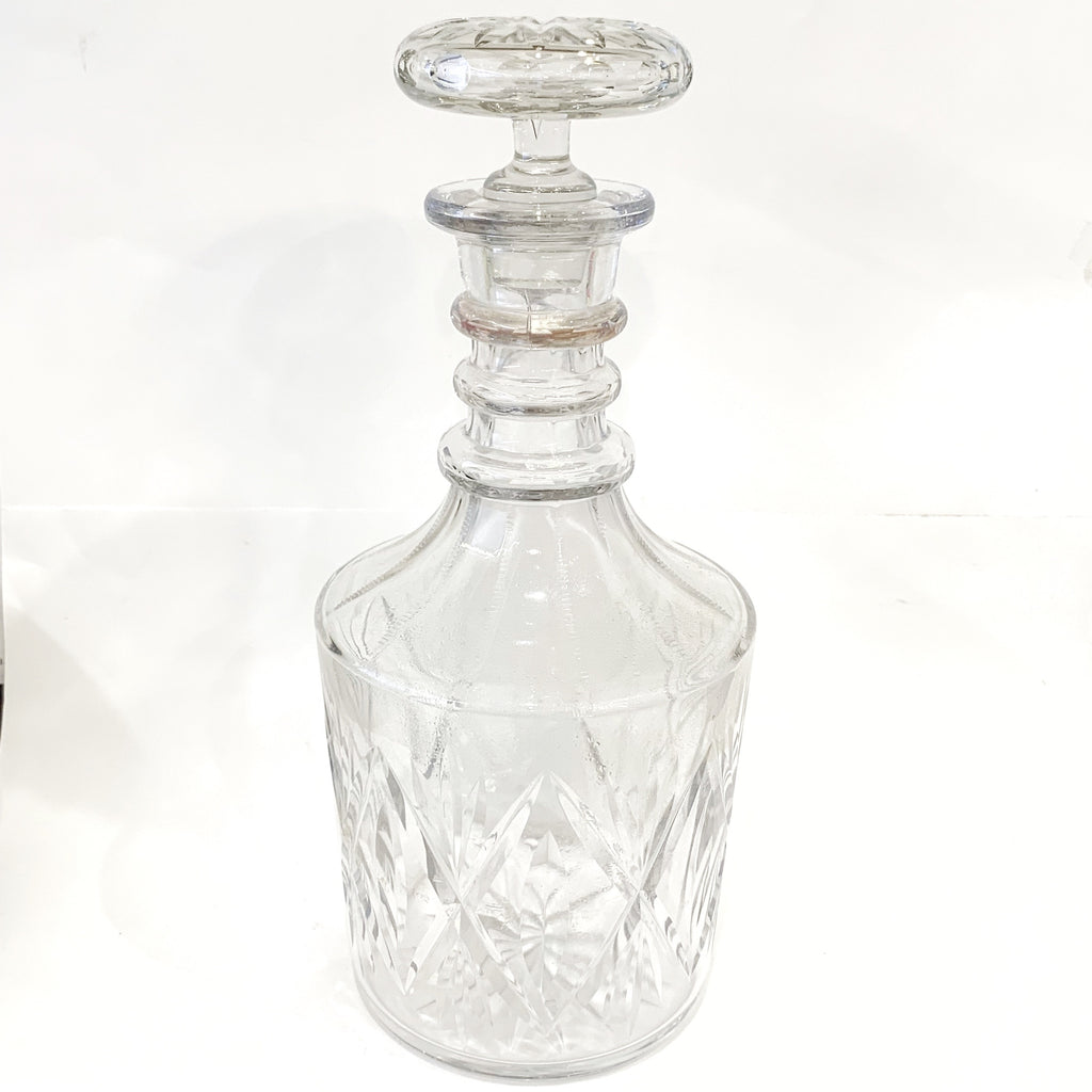 Estate Collection Vintage Glass Decanter
