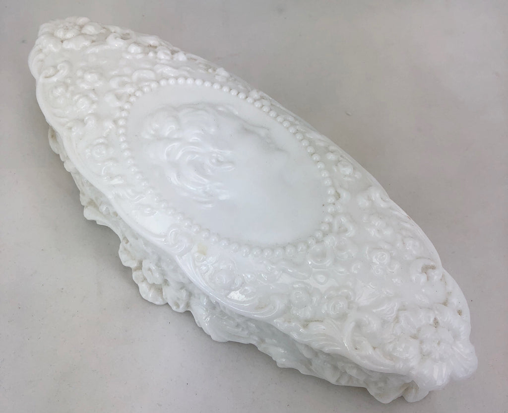 Estate Collection Milk Glass - Vintage Jenny Lind Milk