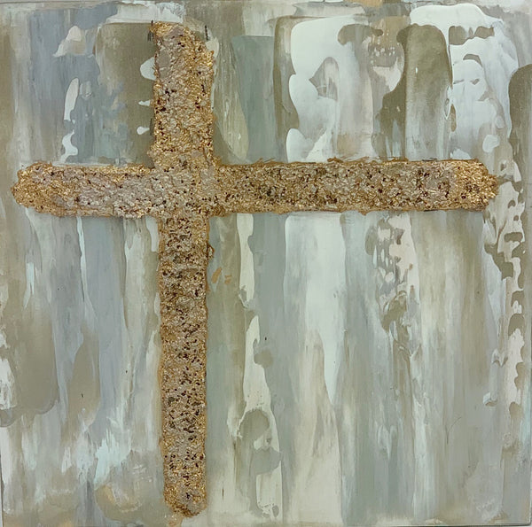 "Kim Weathers - Cross 5"" x 5"""