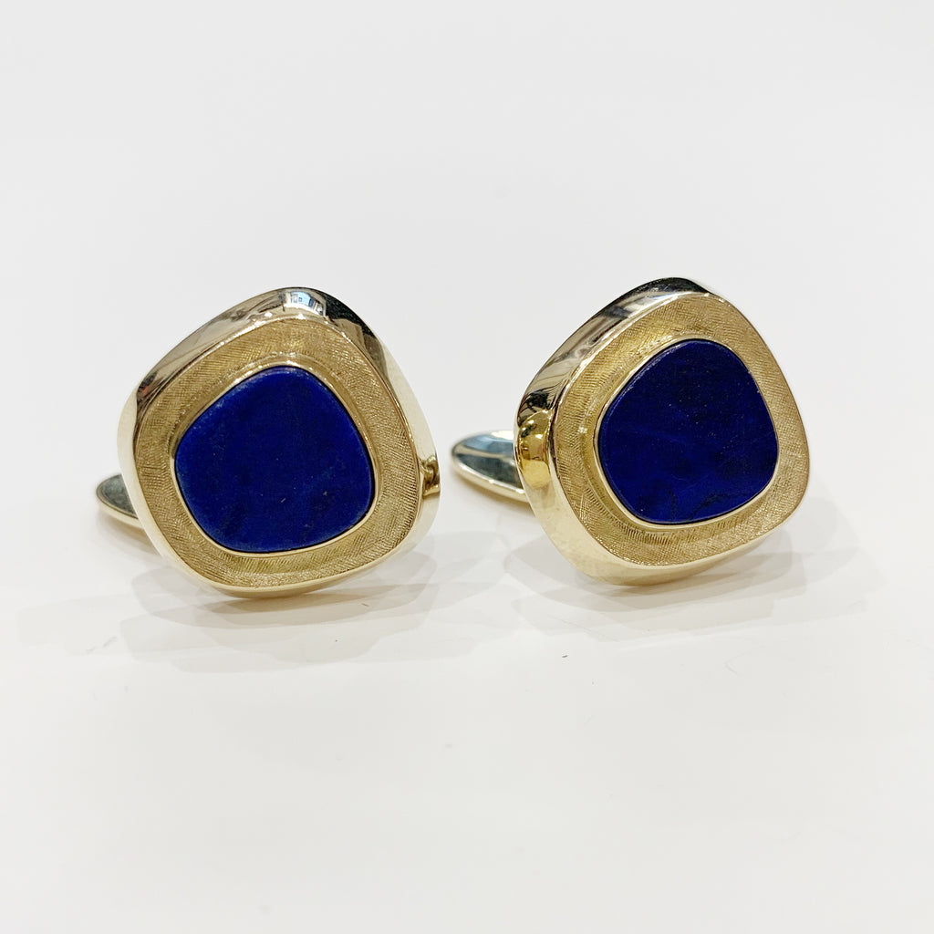 Estate Collection CuffLinks - Lapis Lazuli