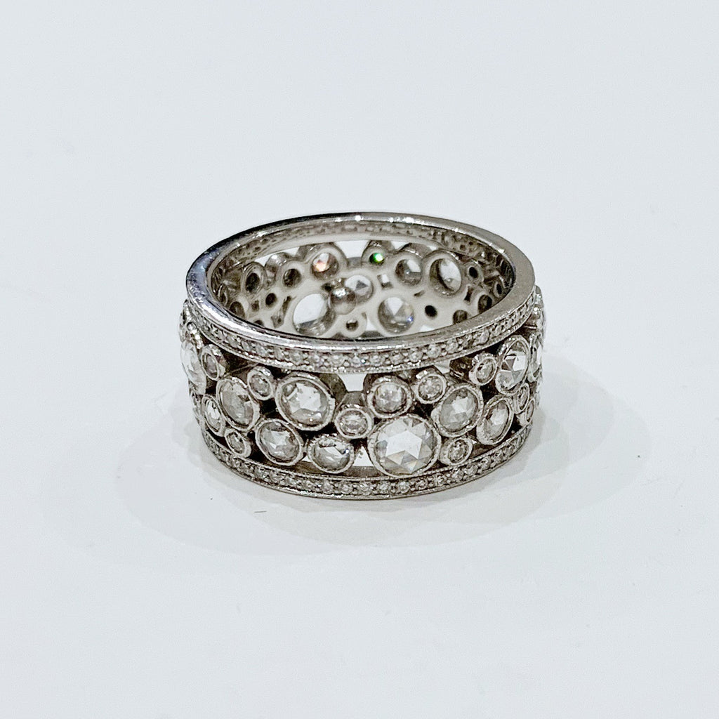 Estate Collection Ring - Vintage Tiffany & Co. Cobblestone Eternity Band