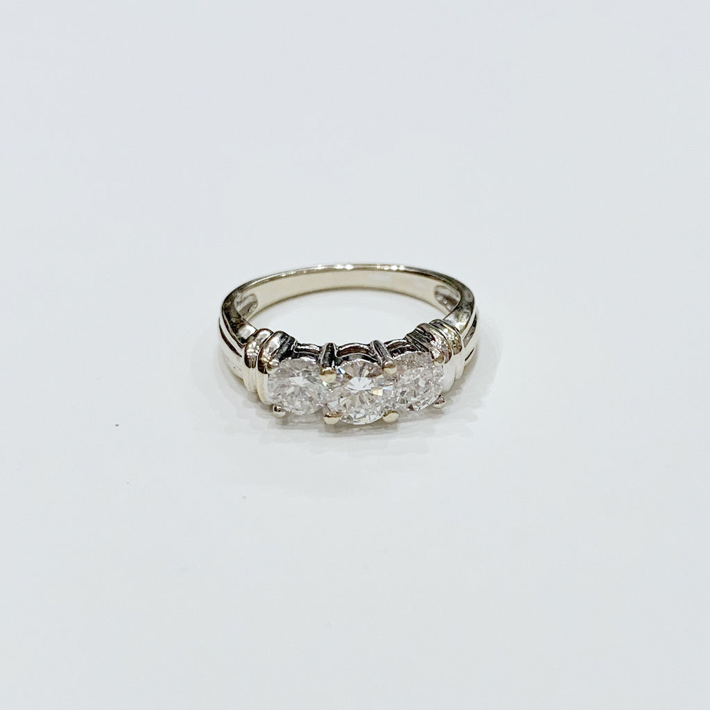 Estate Collection Ring - Vintage Three Stone