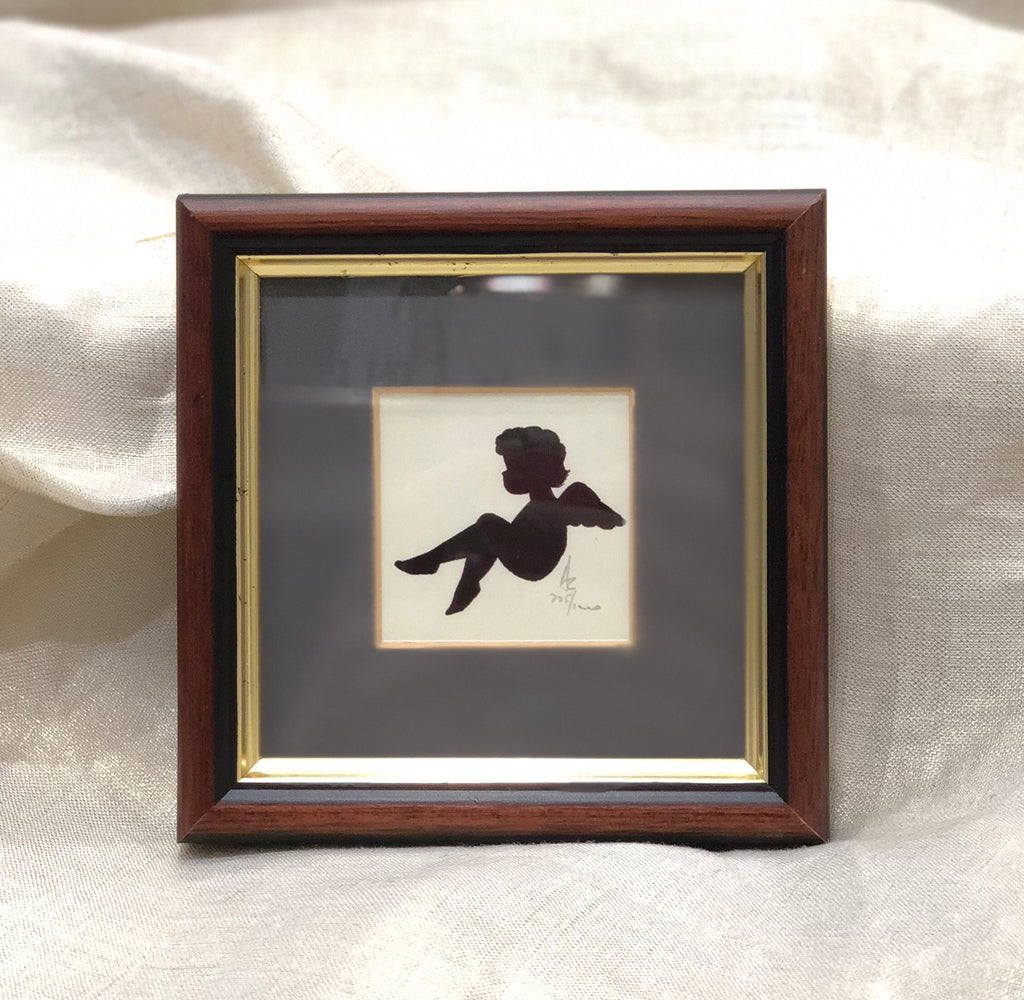 Estate Collection Framed Art - Limited Edition Signed Silhouettes