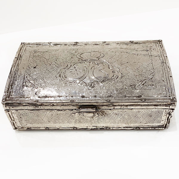 Estate Collection Silver - Box Antique Spanish Colonial