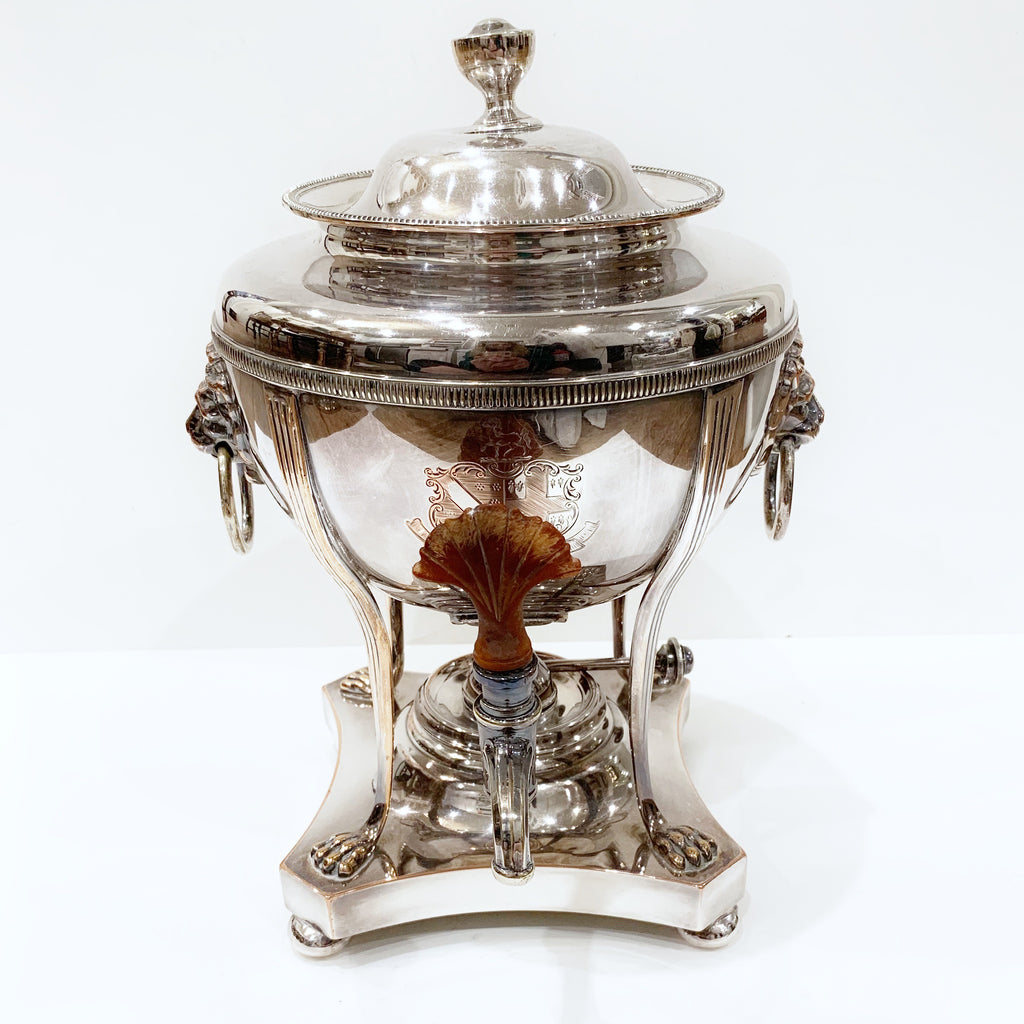 Estate Collection Silver Plate - Urn Antique Hot Water Urn Sheffield