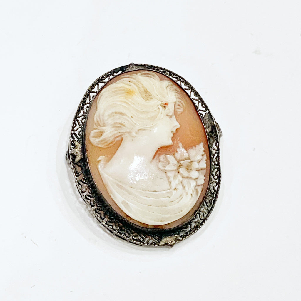 Estate Collection Brooch - Cameo