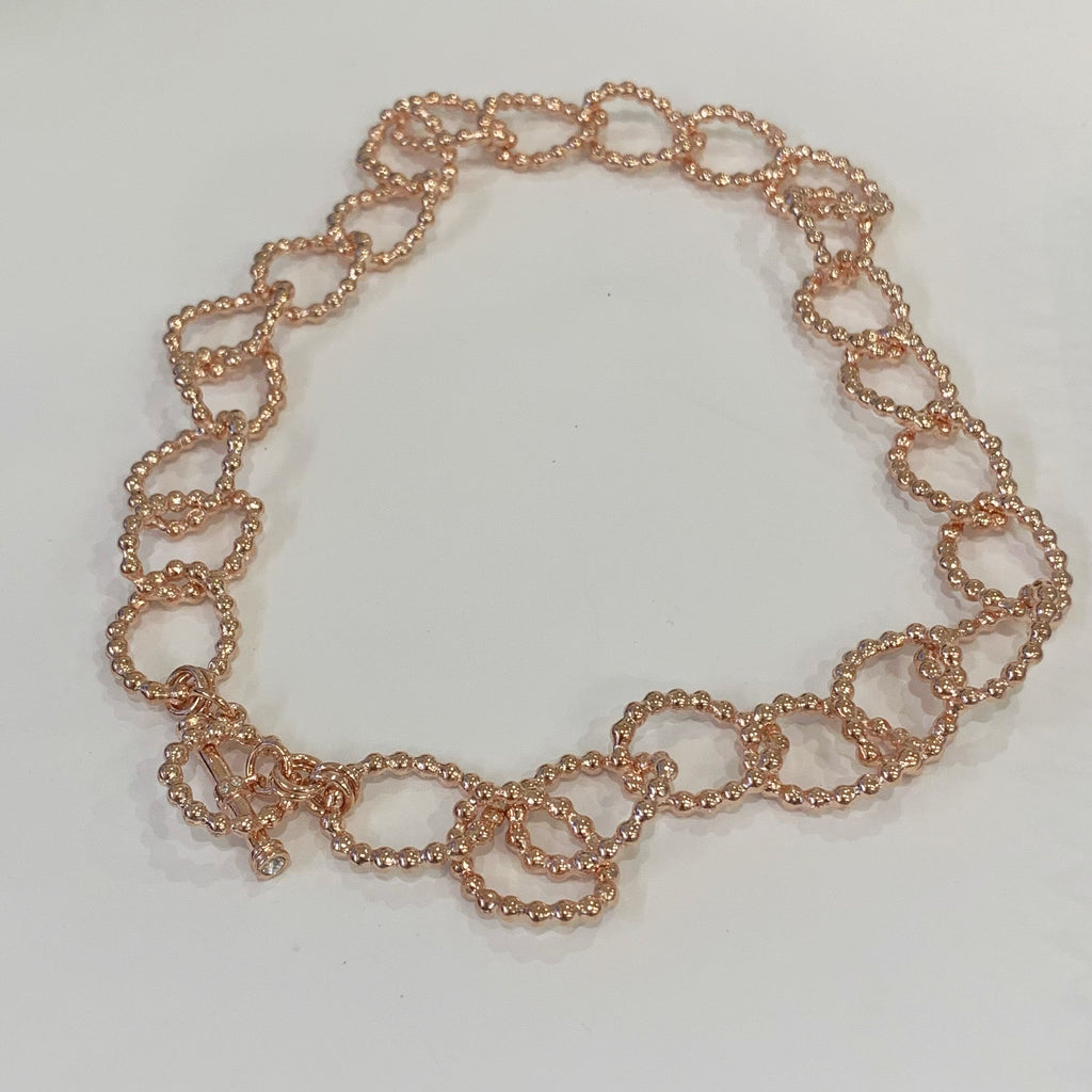 Rose Gold Link Necklace