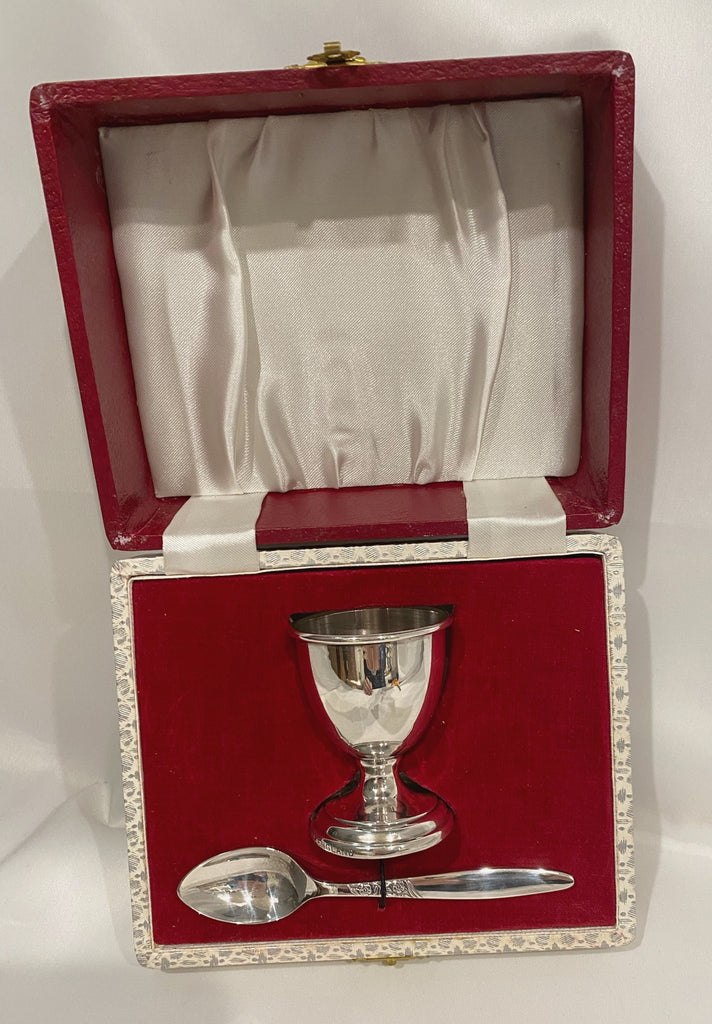 Estate Collection Silver Plate - Presentation Boxed Child Set
