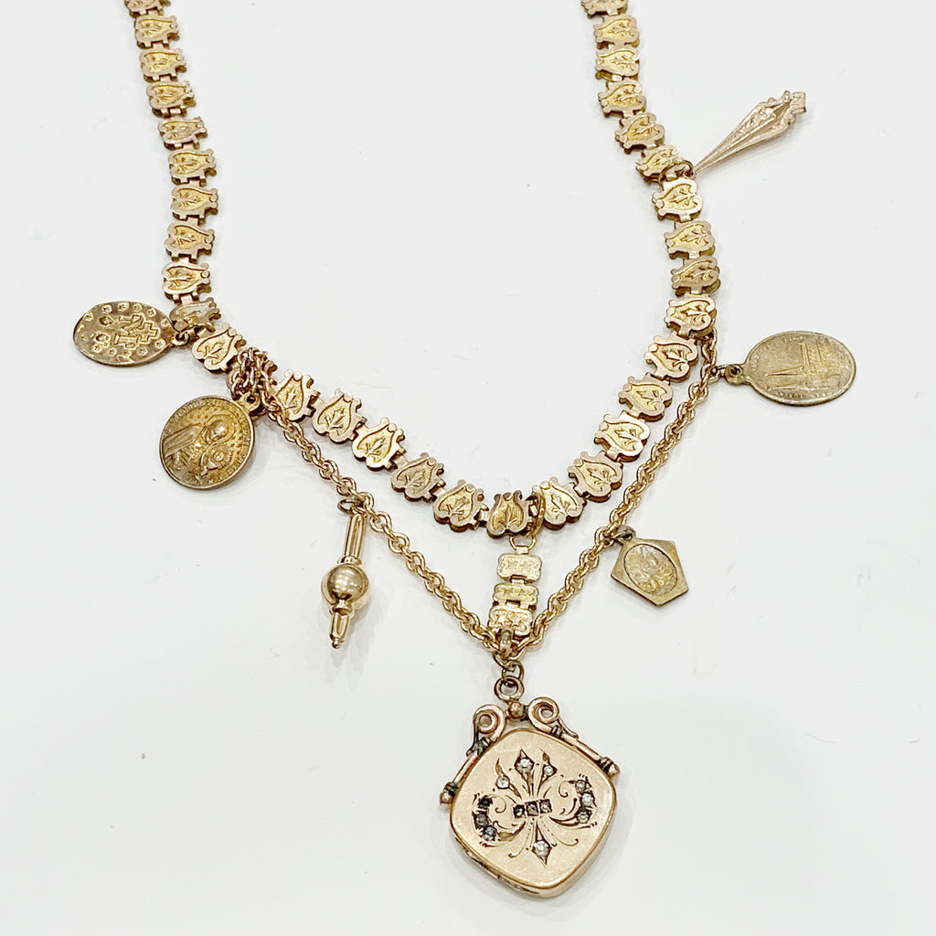 "Estate Collection Necklace - ""One of a Kind"" Custom Made Locket Necklace"