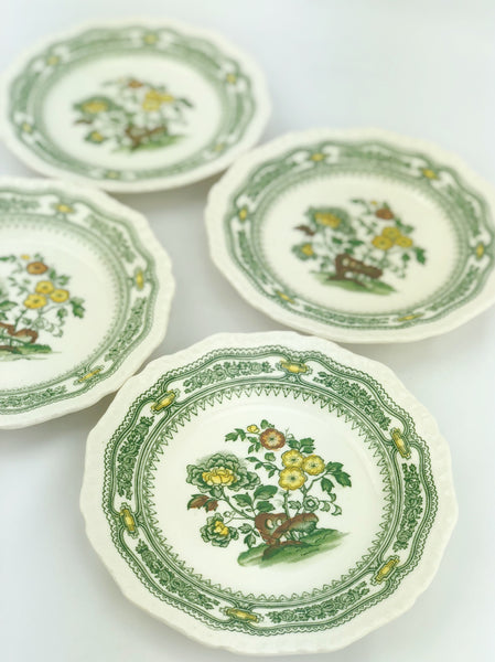 Estate Collection English Ironstone Manchu Pattern