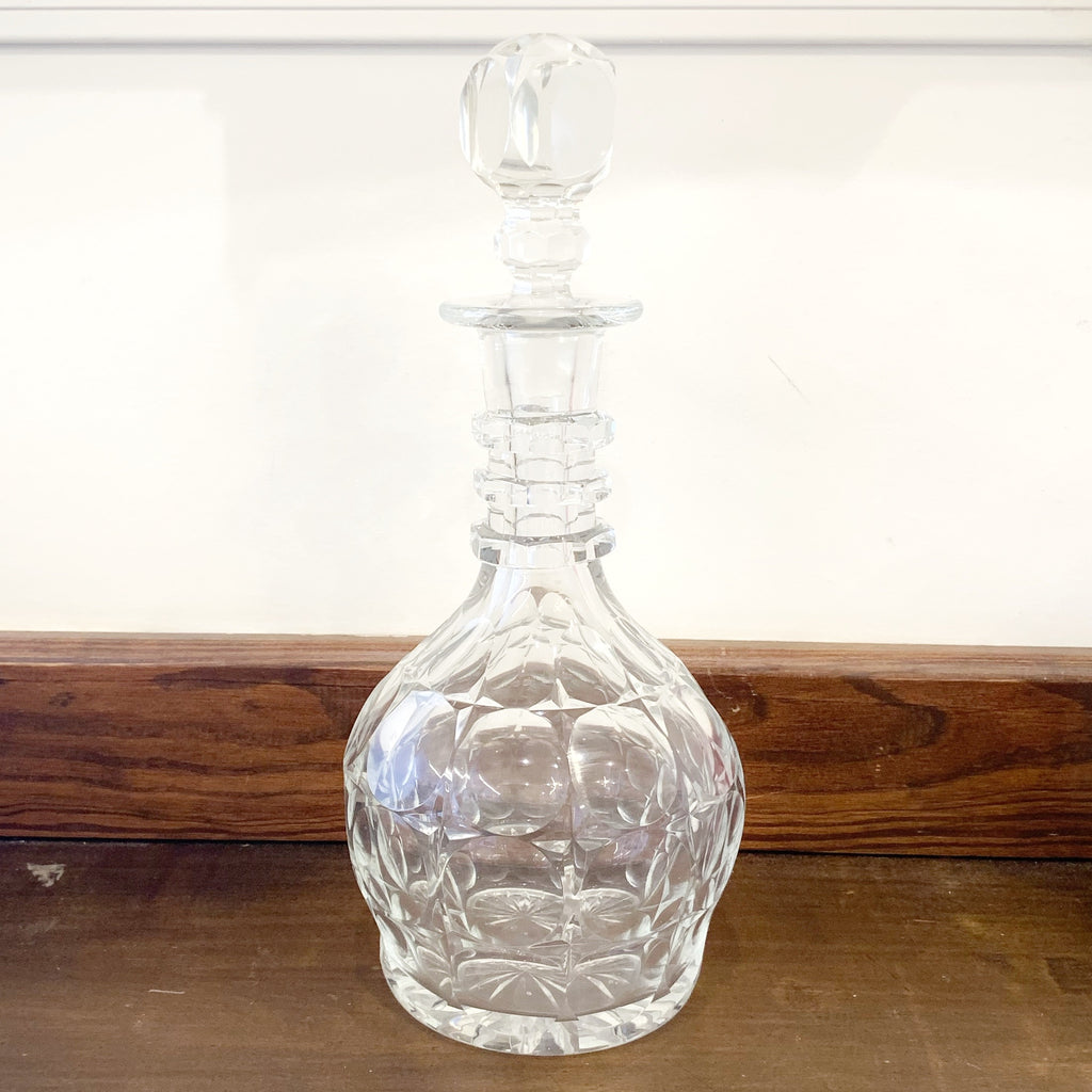 Estate Collection Cut Glass Decanters