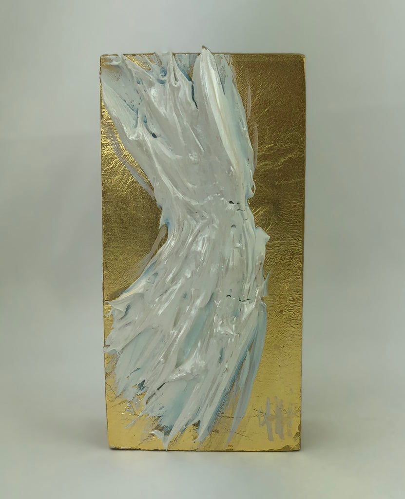 Debra Hewitt Designs Angel Wings on Wood Panel