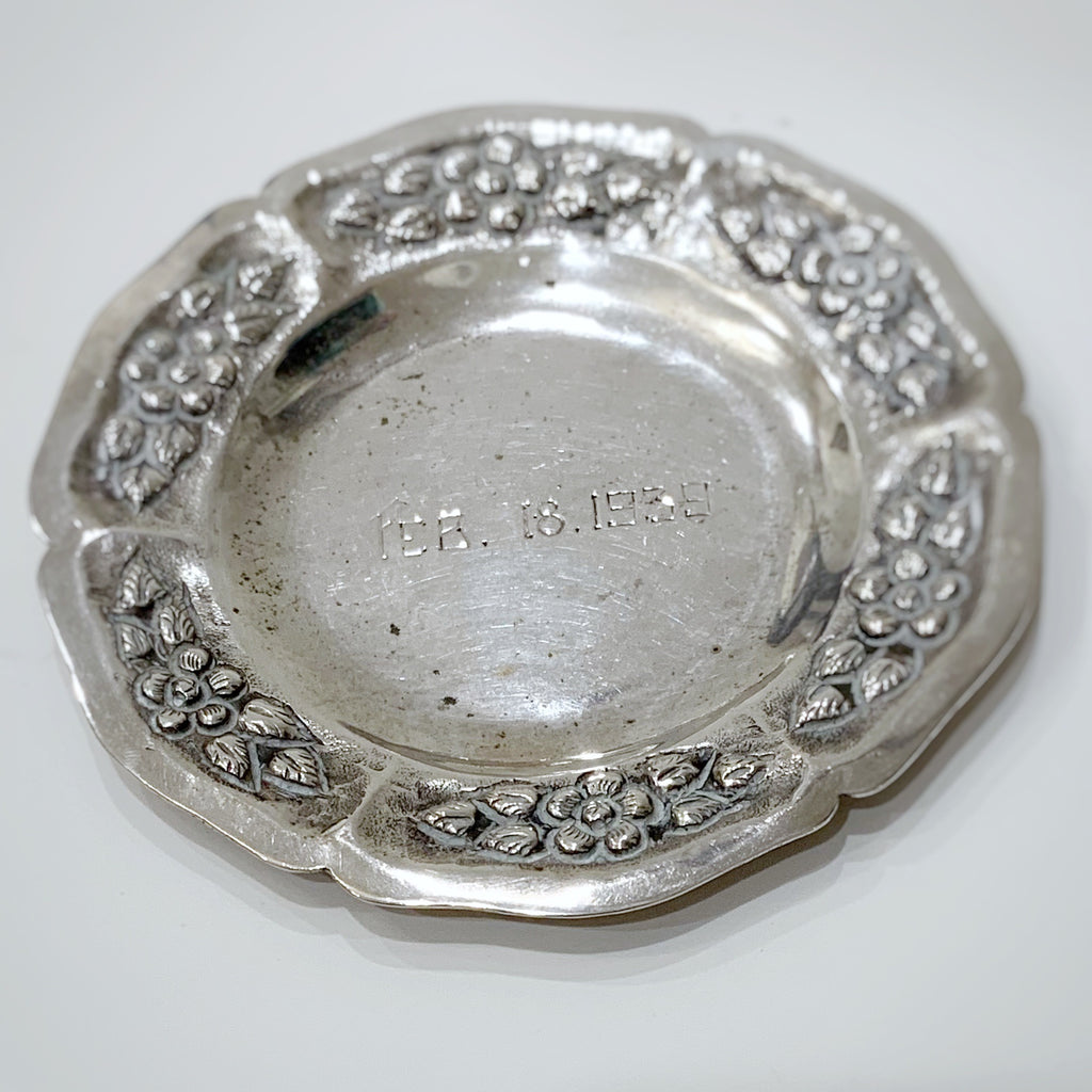 Estate Collection Silver Plate - Plate Small