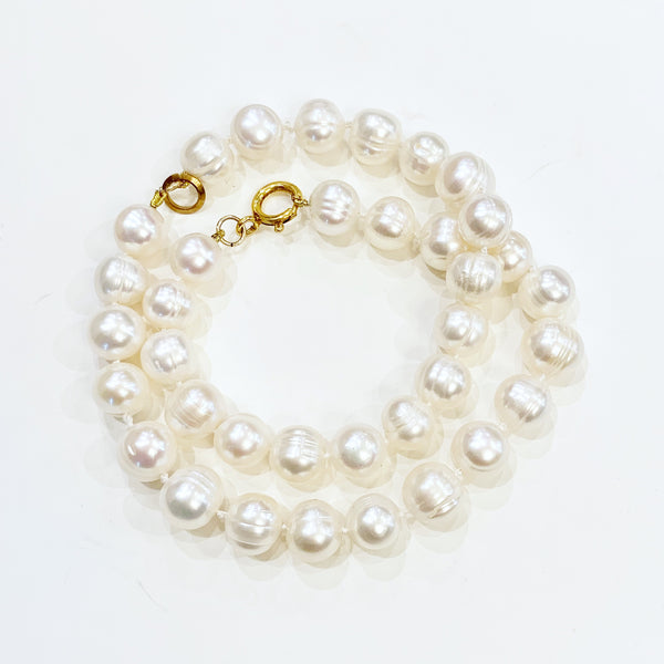 Estate Collection Bracelet - Double Strand Baroque Pearl