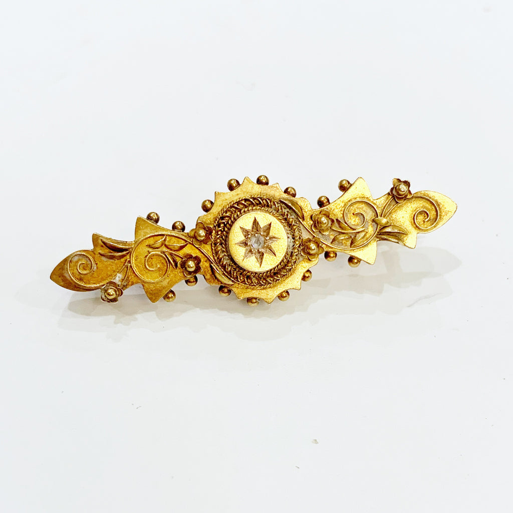 Estate Collection Brooch - Antique Etruscan Style