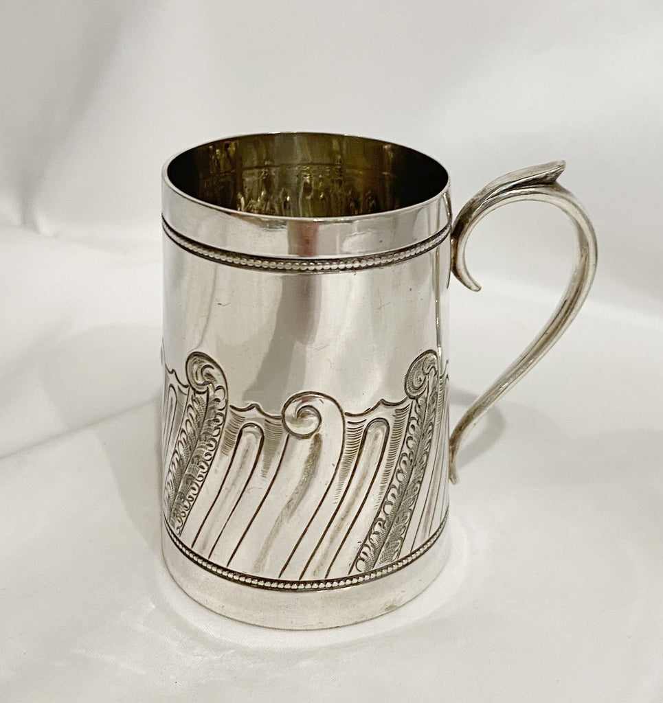 Estate Collection Silver Plate - Mug by Daniel & Arter