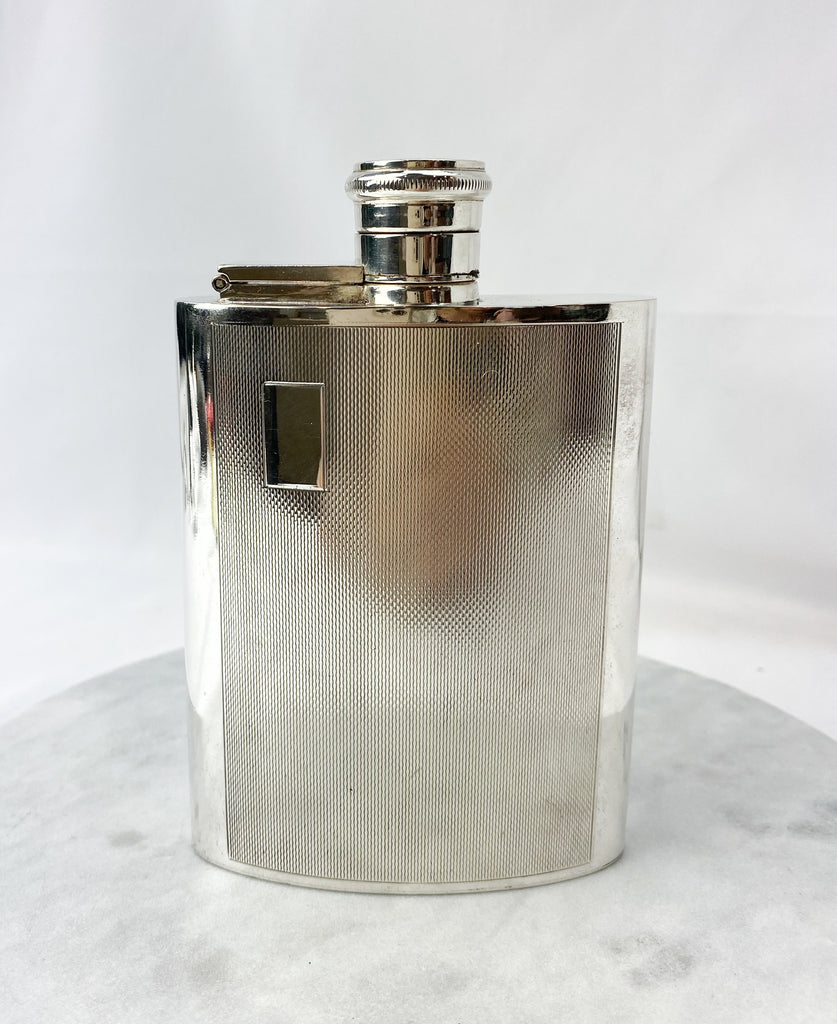 Estate Collection Silver Plate  - Flask