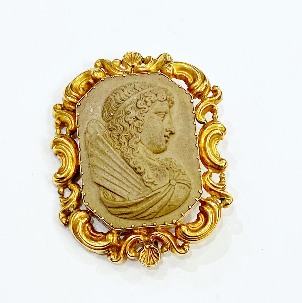 Estate Collection Cameo Rare Lava