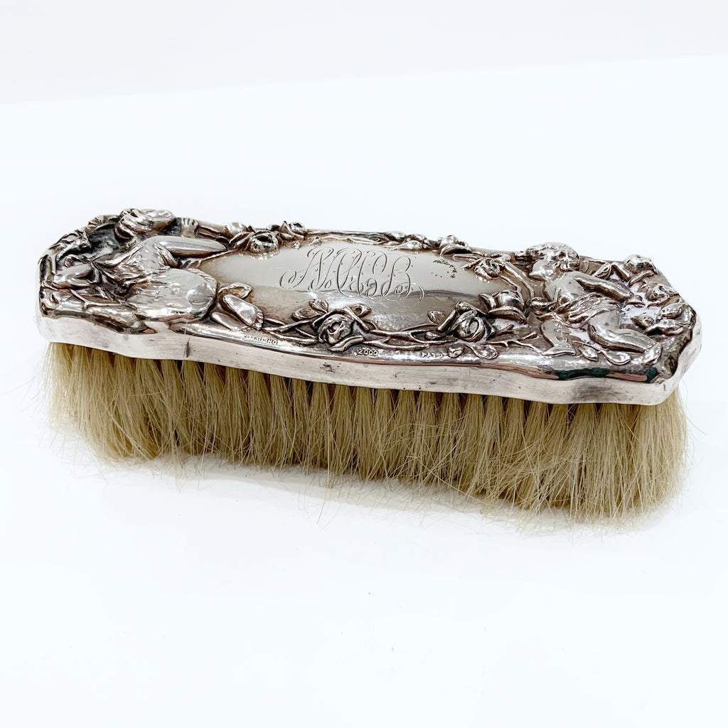 Estate Collection Silver - Clothes Brush Art Nouveau