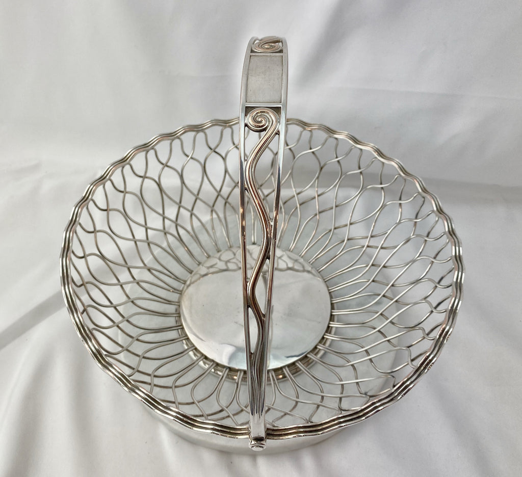 Estate Collection Silver Plate - Basket