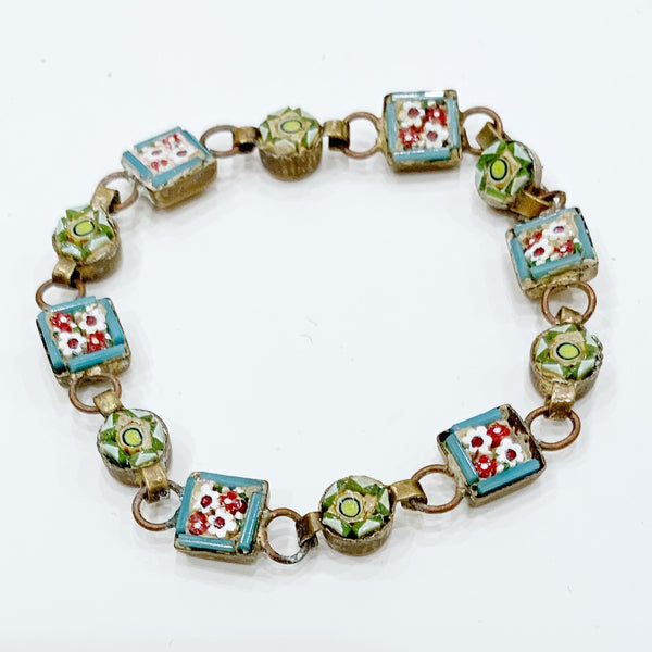 Estate Collection Bracelet - Vintage w/Micro Mosaic