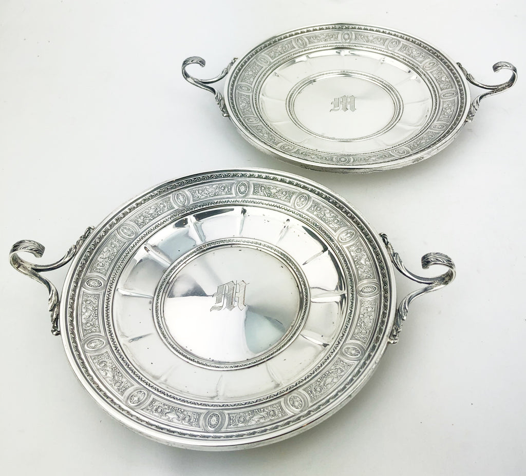 Estate Collection Silver - Sterling Pair of Bonbon Bowls