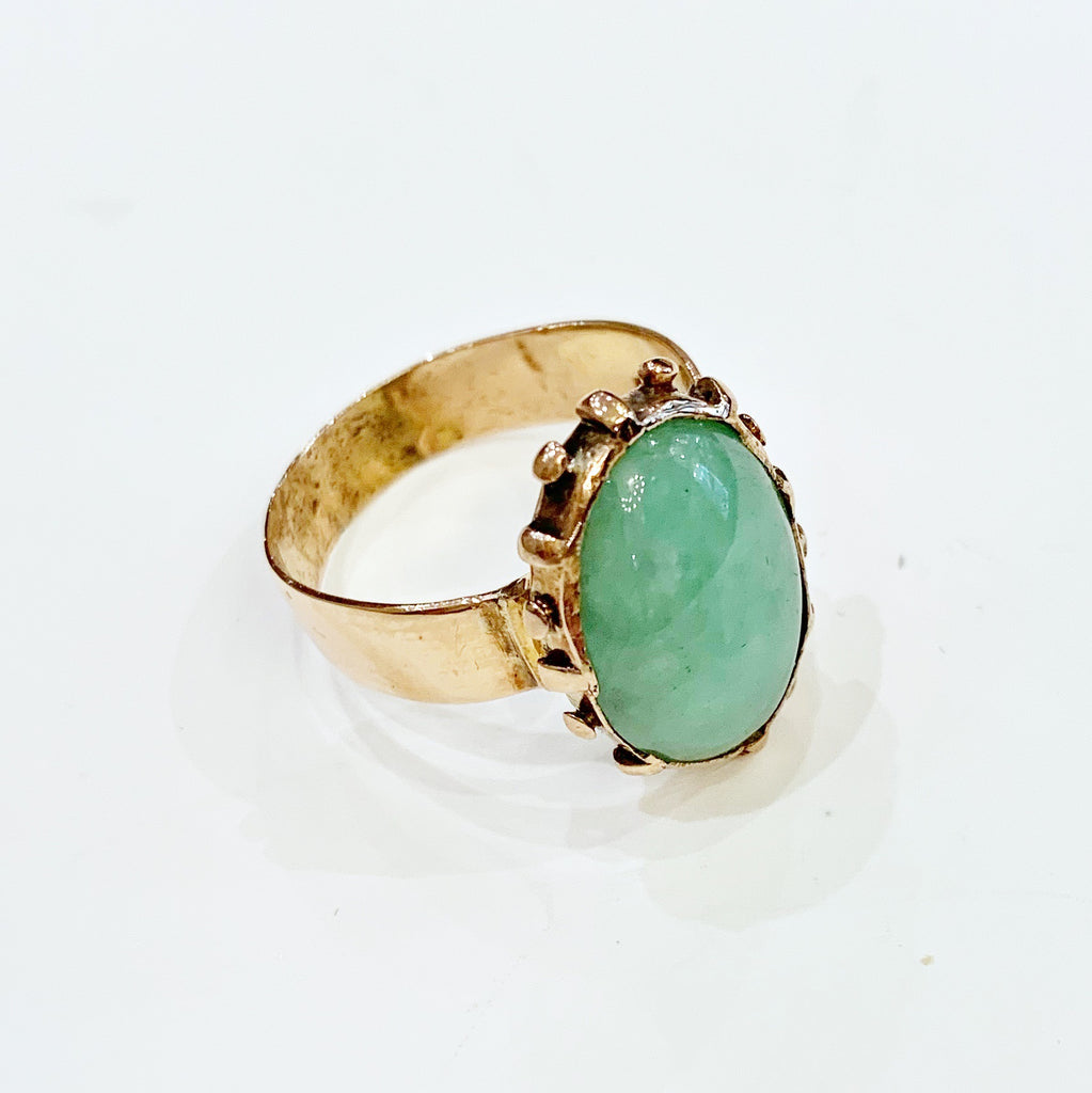Estate Collection Ring - Gold & Jade 1800's