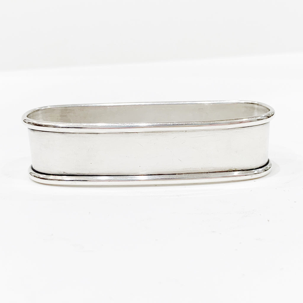 Estate Collection Sterling - Napkin Ring Elongated Lunt