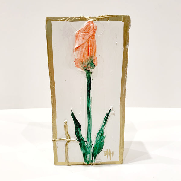Debra Hewitt Designs - Flower on Small Wood Panel