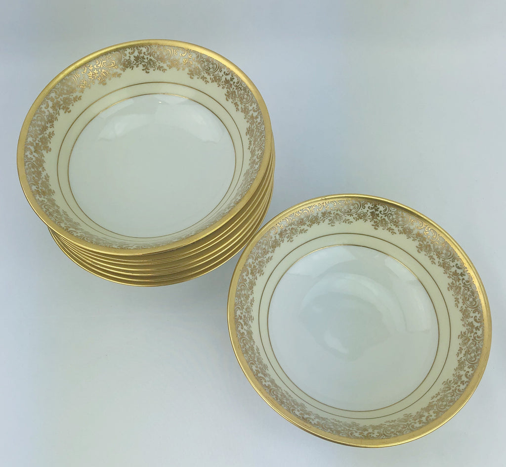Estate Collection China - Bavarian Cream Soup Bowls