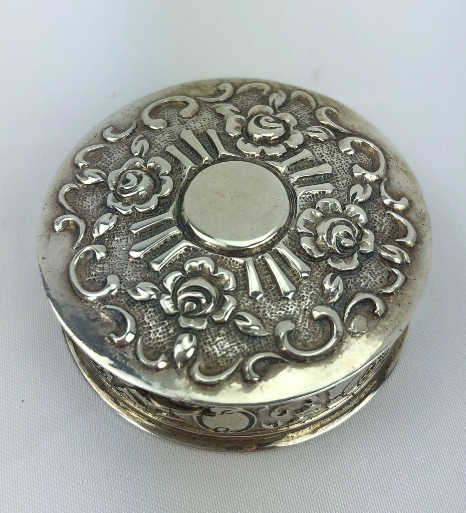 Estate Collection Sterling Pill Box