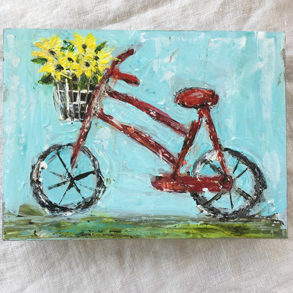 Kim Weathers - Bicycle 6x9