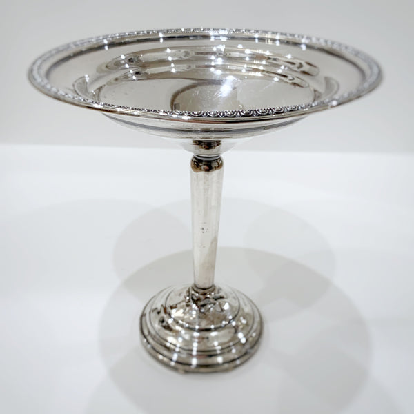 Estate Collection Sterling - Compote Vintage Weighted