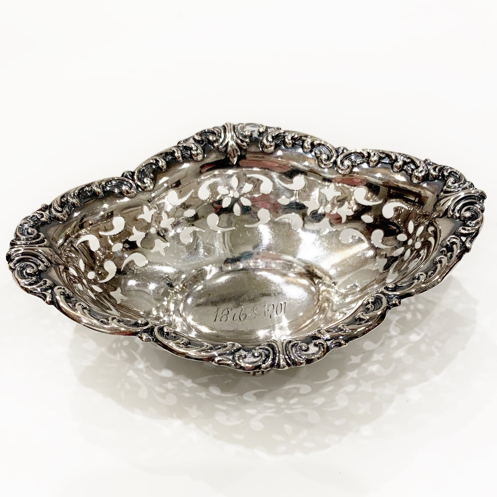 Estate Collection Sterling - Bowl Pierced Footed