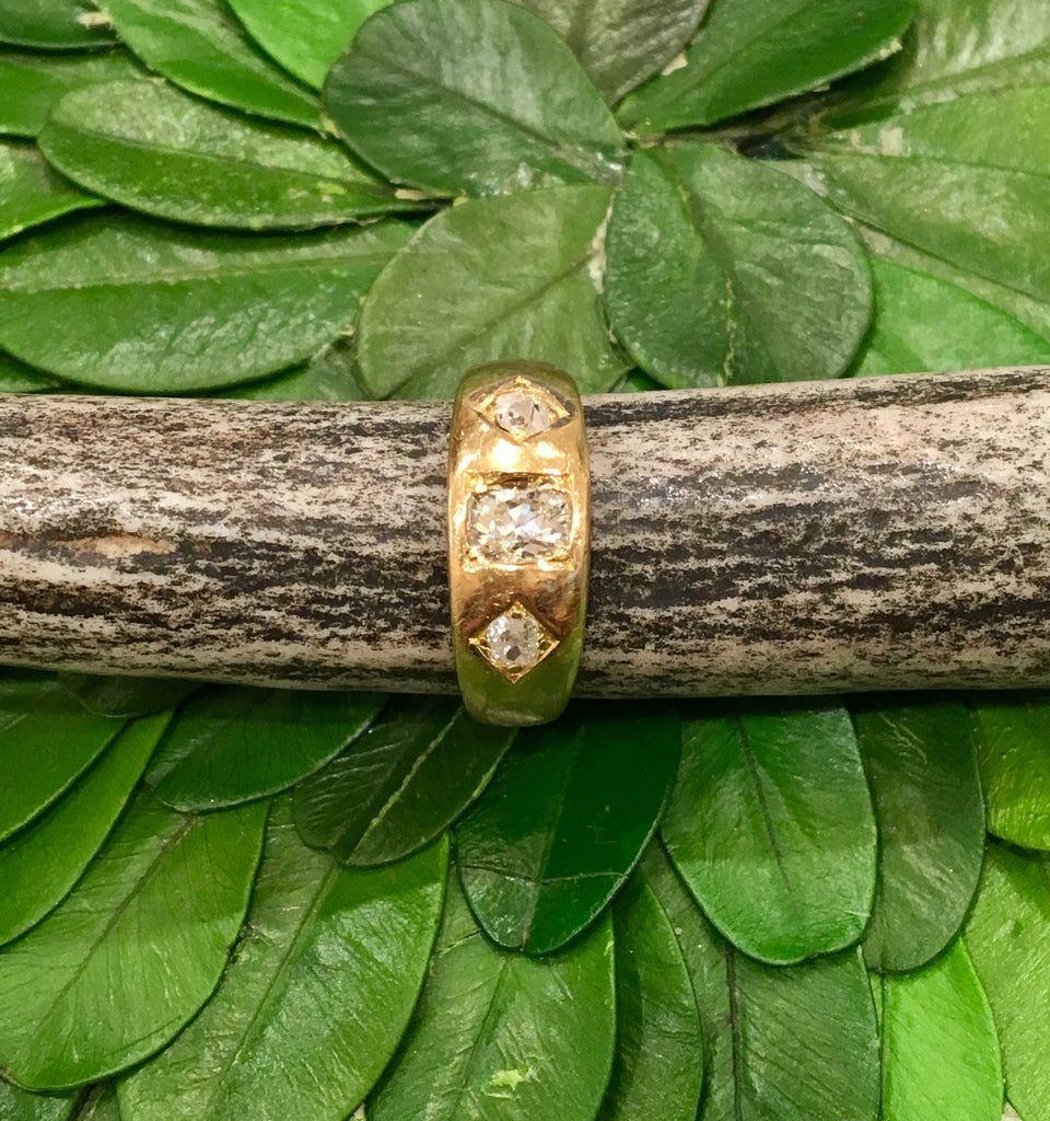 Estate Collection 18 ct Gold and Old-Cut Diamond Ring