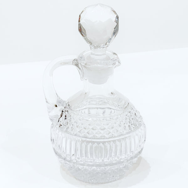 Estate Collection Crystal - Cruet Cut Crystal