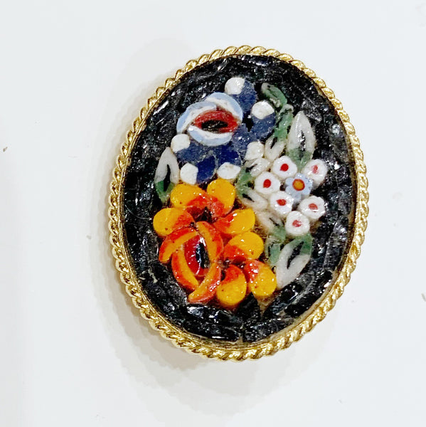 Estate Collection Brooch - Micro Mosaic