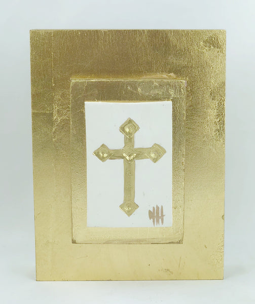 Debra Hewitt Designs Dimensional Antique Cross