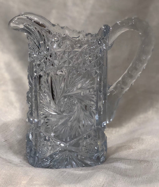 Estate Collection Pitcher -  Cut Crystal Extra Small