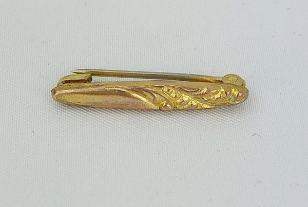Estate Collection Baby Pin - Vintage Gold Filled