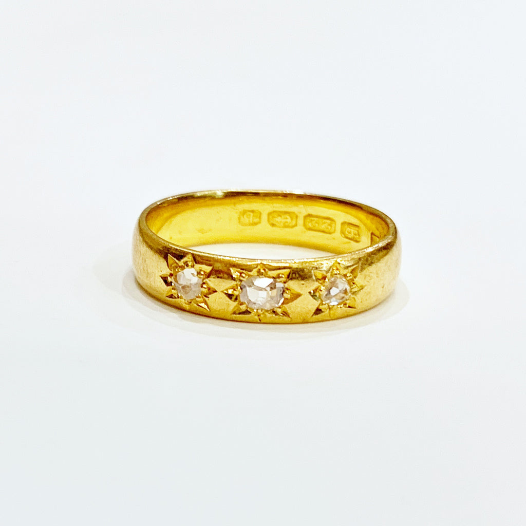 Estate Collection Ring - Edwardian 22K Gold and Diamond