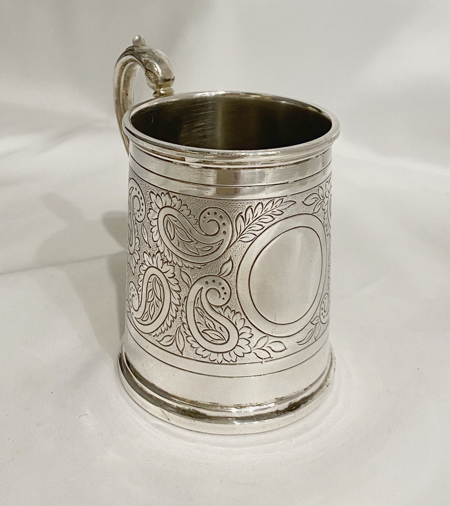 Estate Collection Silver Plate - Mug