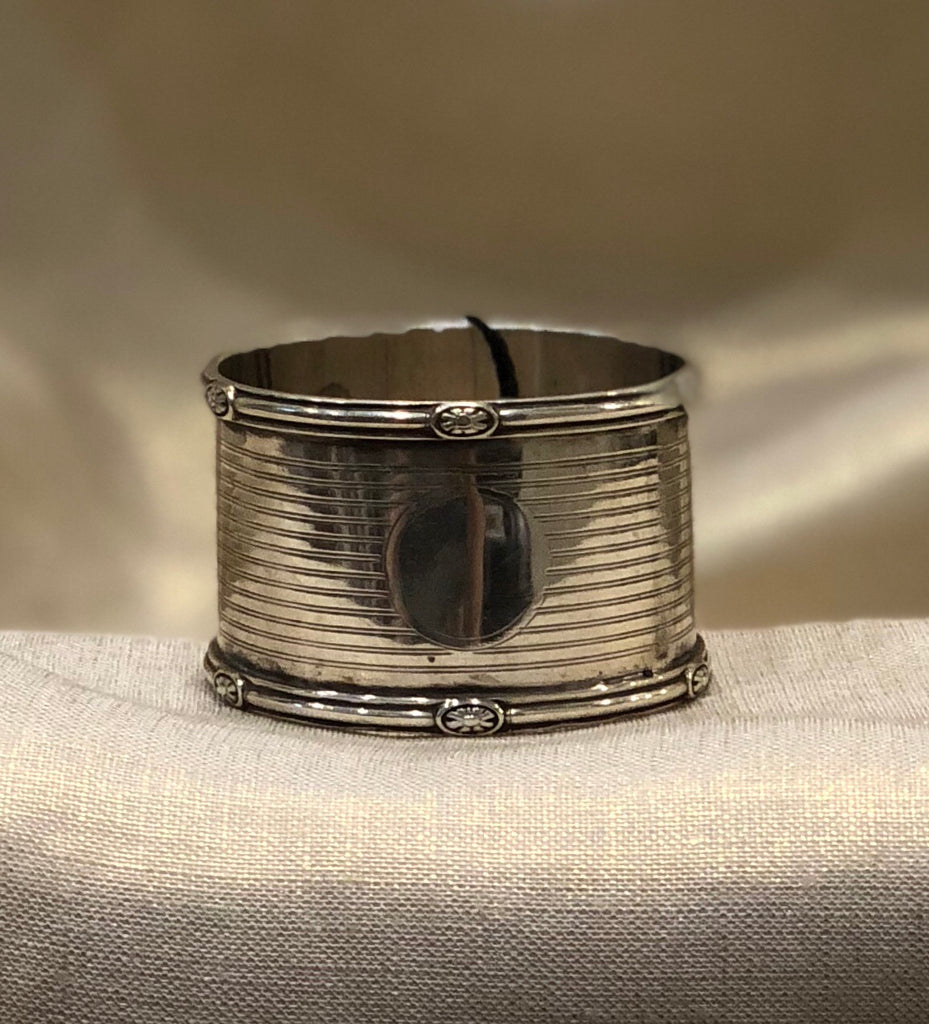 Estate Collection Sheffield 1914 Walker & Hall Napkin Ring