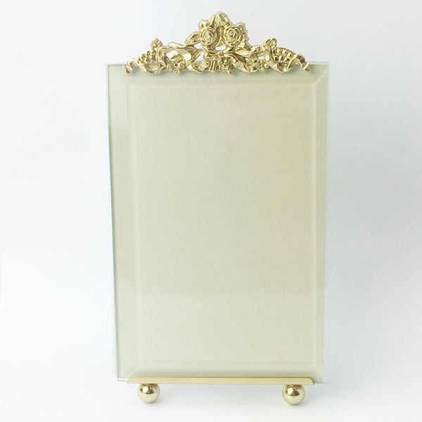 Forget Me Not Gold Picture Frame