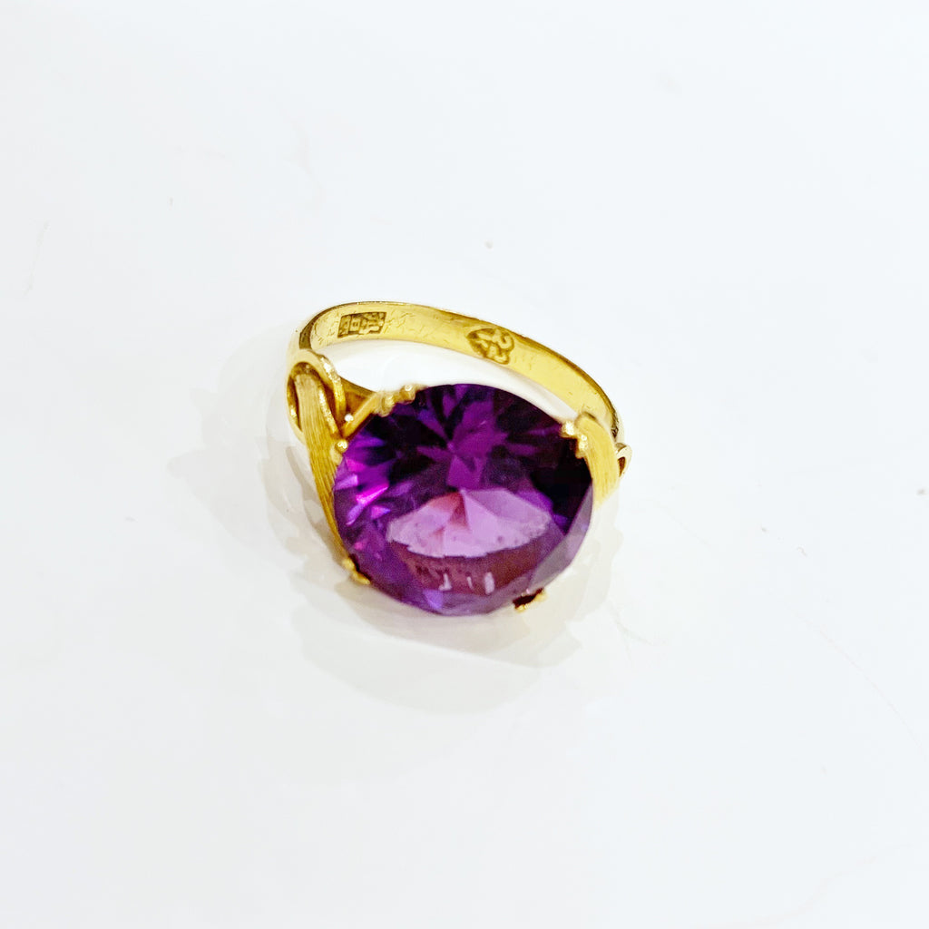 Estate Collection Ring - Synthetic Amethyst