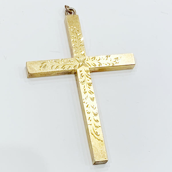 Estate Collection Cross - Gold