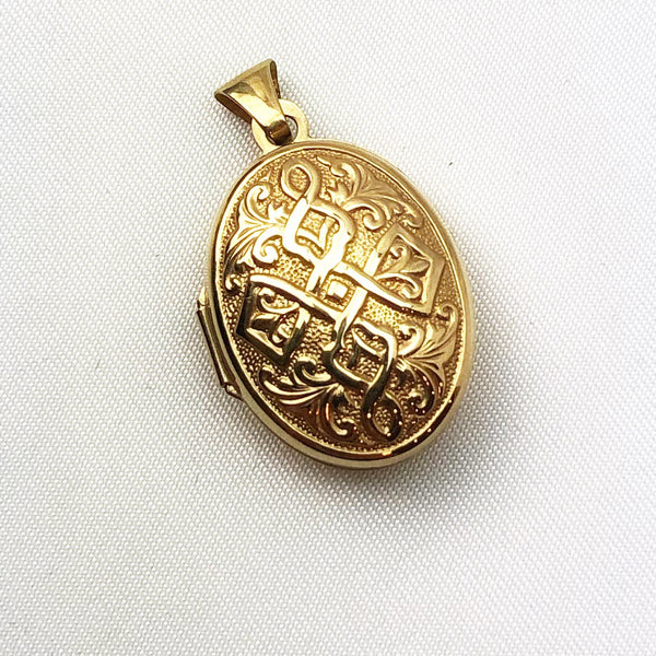 Estate Collection Locket - Victorian