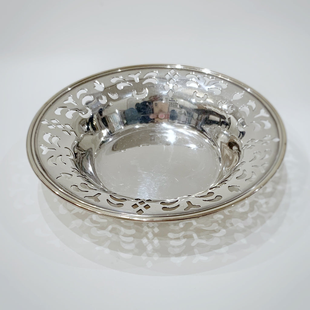Estate Collection Sterling - Bon Bon Dish American Pierced