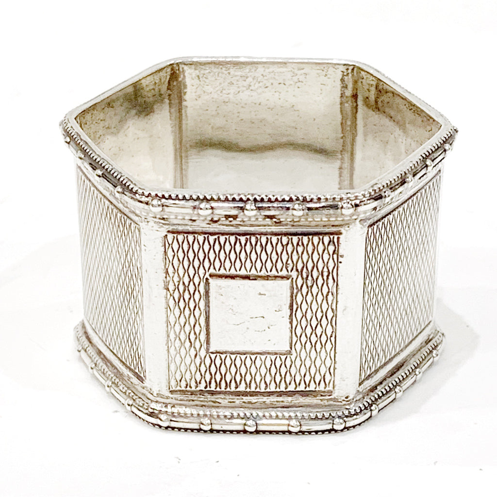 Estate Collection Silver - Napkin Ring Thomas Bishton