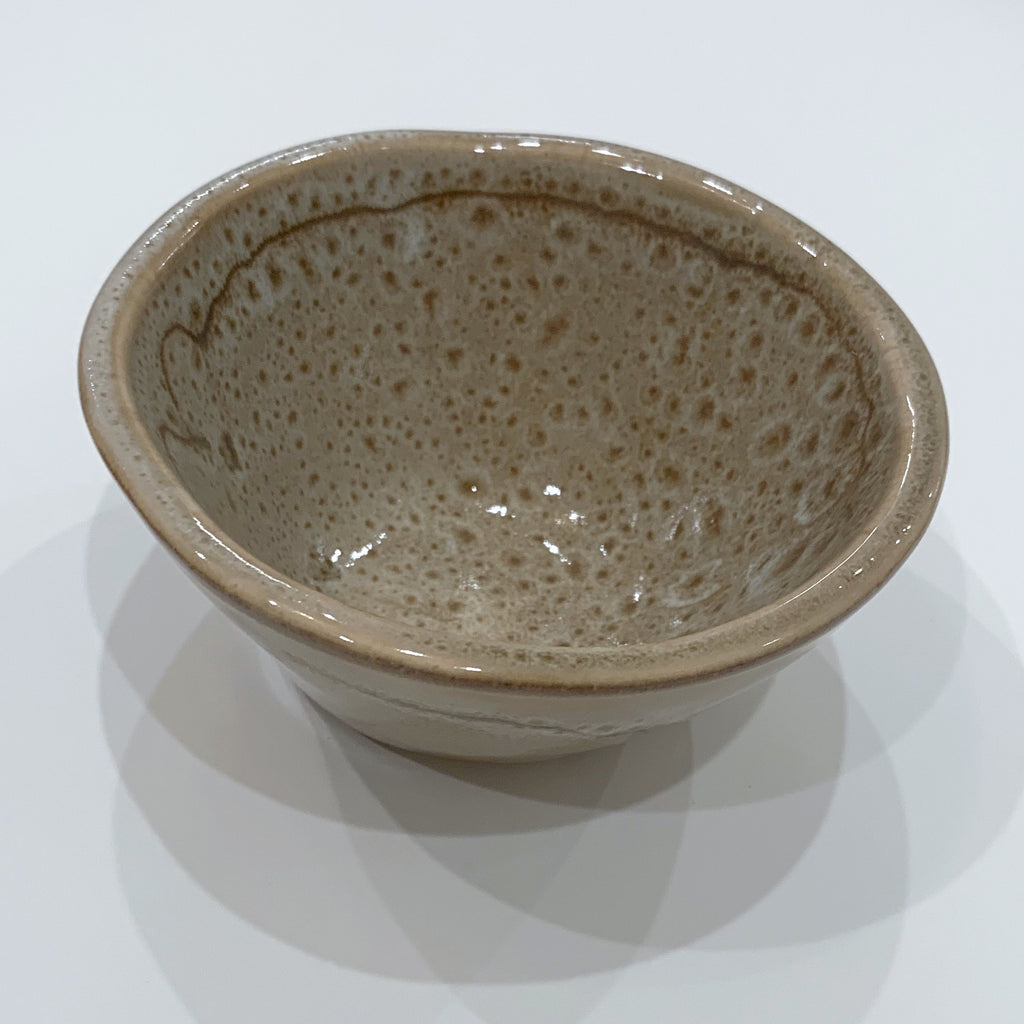Bowls Hand Crafted In Speckled Brown